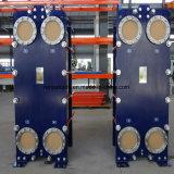 바다 기름 냉각기를 위한 수출된 티타늄 0.5mm/0.6mm 틈막이 격판덮개 열교환기