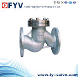 던지기 Steel Lift Type Check Valve Wafer Type 또는 Flanged
