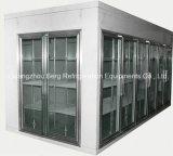 Nagelneuer Weg in den kühleren Glastüren mit Qualität