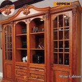 Banheira de venda de madeira maciça clássico Armários de cozinha de luxo com Island