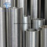 기름 산업 설비 여과를 위한 높은 정밀도 스테인리스 316L 쐐기(wedge) 철망