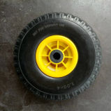 은은한 불빛 높은 고무줄 PU 거품고무 바퀴 (10*3.50-4)