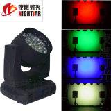 LED 19*15W vier in einem Fokus-Hauptwäsche-Licht