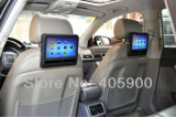 BMW Benz Audi VW Toyota etc.를 위한 Game/2 IR Headphone를 가진 DIY Install 9 Inch Touch Screen Active Car Headrest DVD Player,