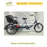 [ش-ت123] درّاجة ثلاثية مع طفلة مقادة