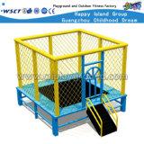 Trampoline carré de haute qualité pour les enfants dans le parc (HD-15104)