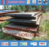 Placa de aço de liga de ASTM A516 Gr60