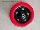트롤리 또는 외바퀴 손수레에 사용되는 다중 크기 고무 단단한 바퀴