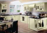Design moderno de armários de cozinha em madeira maciça #2012-131