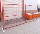 Revestimiento en polvo 6ftx9.5FT Canadá valla temporal Panel/Construcción temporal valla