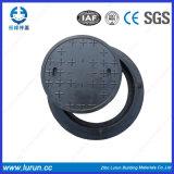 SMC 물자의 재생 가치 D400 합성 맨홀 뚜껑 없음