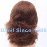 Parrucca europea delle donne dei capelli con la parte superiore francese