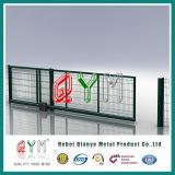 Frontière de sécurité soudée Curvy de treillis métallique de la haute sécurité 3D