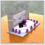 Cabinet d'affichage de parfum en acrylique personnalisé