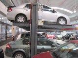 油圧機械二重郵便車の駐車装置
