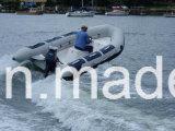 Aqualand 14feet 4.2mの膨脹可能な救助艇か肋骨の哨戒艇(rib430A)