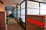 Cloison de séparation en verre pour le bureau, salle de réunion