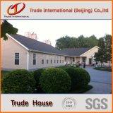 La casa prefabricada de acero/prefabricó edificios móviles como hogares vivos privados