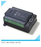 PLC T-919 del acceso serial 3 RS485/232 y de Ethernet con 8ai regulador del PLC 4do y 4PT100 de 8di