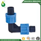 Ajustage de précision de arrosage de picot de boyau d'irrigation de couplage de blocage