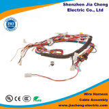 Conjunto de cabo e chicote de fios moldados costume do fio para o equipamento da máquina