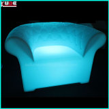 Multi-Color Light up Table et chaise de signes de mobilier de jardin LED