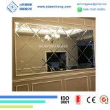 spiegel van de Badkamers van 4mm de Duidelijke Zilveren
