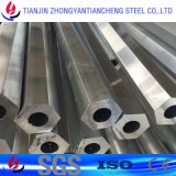 perfil del aluminio 6061 6063 7075 con la superficie anodizada en el embalaje de papel