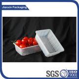Bandeja plástica descartável para a fruta
