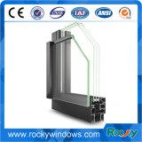 Marco de la ventana de aluminio de grado 6000 cubre perfil con todos terminar disponibles