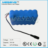 12V 10ah Lithium-Ionenbatterie für Kontrolle Camare