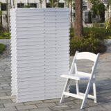 La resina caliente vender silla plegable con suaves notas