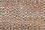 탁상을%s 고아한 자카드 직물 직물 절연제 미끄럼 방지 PVC Placemat