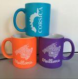 Tazza di ceramica fluorescente della tazza 11oz Stonware con il marchio di disegno