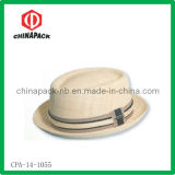 Fashion Skimmer Boater Straw Hat (CPA-14-1055)