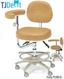 Табуретка зубоврачебного офиса стула лаборатории медицинского доктора оборудования портативного мягкая (TJHS-8)