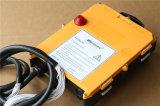 Trasmettitore e ricevente senza fili di Telecontrol F24-60 di telecomando della barra di comando doppia industriale