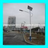 Luz de calle solar arriba eficiente recargable sin necesidad de mantenimiento ligera del panel de RoHS del CE de las baterías del LED mono (GPA-DL-114)