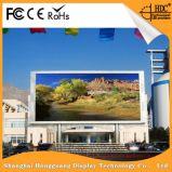 Im Freien hoher Helligkeit P16 farbenreicher LED-Schaukasten-Reklameanzeige-Vorstand