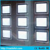 低価格の水晶LEDのライトボックスの掲示板のよ販売