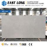 Brames de pierre de quartz de Calacatta de couleur foncée pour le panneau conçu/mur/Worktop avec la surface Polished