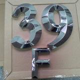 banco di mostra della lettera dell'acciaio inossidabile della lettera della Manica 3D