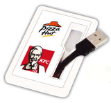 Usb-Blitz-Laufwerk-Karte Soem-Firmenzeichen USB-grelles Stock USB-Karten-grelle Platte USB-Daumenlaufwerk Pendrives USB-grelle Karte