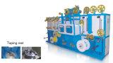 Revestimento de poliuretano termoplástico PE PVC do fio de alimentação da linha de produção do extrusor