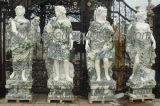 새기기 4 절기 조각품 (SY-X1703)를 가진 고대 정원 돌 동상을