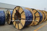 Coaxial flexible gainé mine souterraine de câble en fil de cuivre