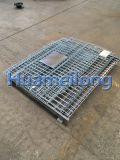 Сверхмощная стальная клетка ячеистой сети хранения складная