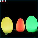16のカラーのLEDの立場の机の卵ランプのクリスマスの照明
