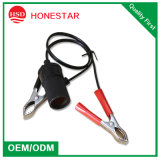 Cigarette automatico Lighter Extension Wire con Alligator Clip