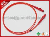 A fibra óptica MTRJ MTRJ OM2 Patch Cord Cabo Zipcord multimodo